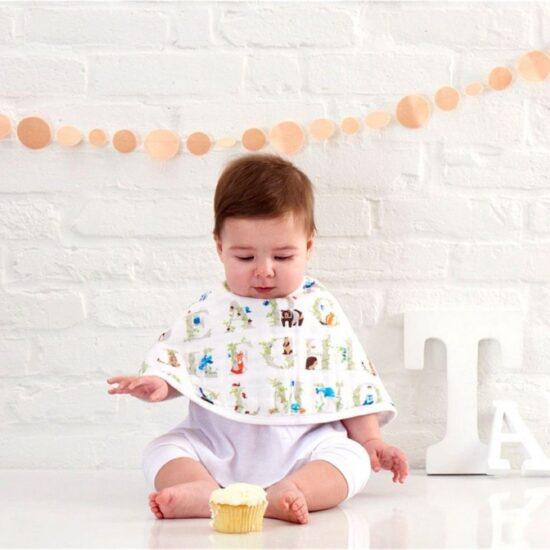BABY EMPIRE - ADEN ANAIS - 2 PACK - CLASSIC BURPY BIB - KAIN MULTIFUNGSI - CELEMEK ANAK