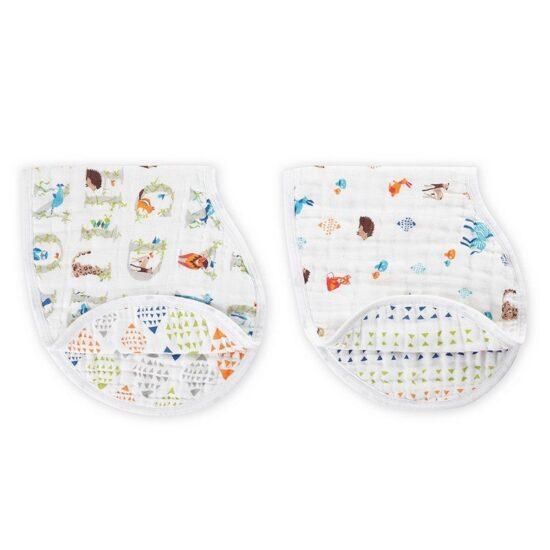 BABY EMPIRE - ADEN ANAIS - 2 PACK - CLASSIC BURPY BIBS - KAIN MULTIFUNGSI - ALAS TIDUR BAYI - PAPER TALES