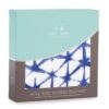 ADEN ANAIS - SILKY SOFT STROLLER BLANKET INDIGO SHIBORI - SELIMUT STROLLER BAYI - BABY EMPIRE