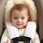 BABY EMPIRE - ADEN ANAIS - STRAP COVER - PEREKAT STROLLER - PEREKAT CAR SEAT - FLURO PINK