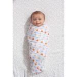 BABY EMPIRE - IDEAL BABY - ADEN ANAIS - 3 PACK - MUSLIN SWADDLES - KAIN BEDONG BAYI