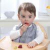 BABY EMPIRE - ADEN ANAIS - 3 PACK - SILKY SOFT SNAP BIB - SLABBER BAYI - MOONLIGHT