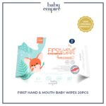 BE - ECOM - MKKM - FIRST HAND _ MOUTH BABY WIPES 20PCS